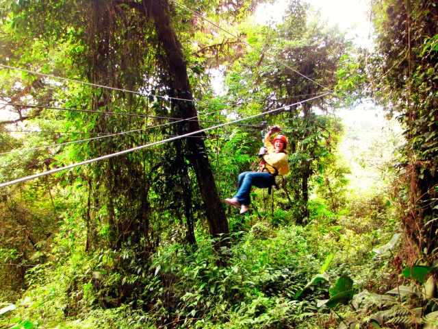 zip lining monteverde costa rica